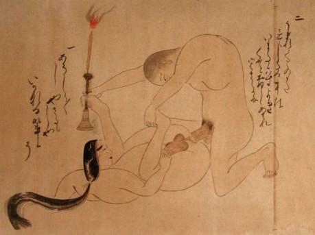 эротическое искусство японии сюнга